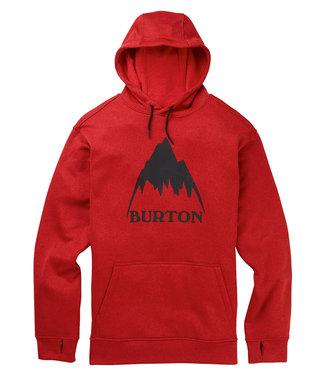 Burton M Oak Hoodie Flame Scarlet Htr