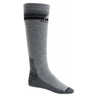 Burton W Emblem Mdwt Sock Gray Heather
