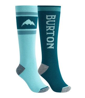 Burton W Weekend Sock Mdwt 2Pk Blue Curacao