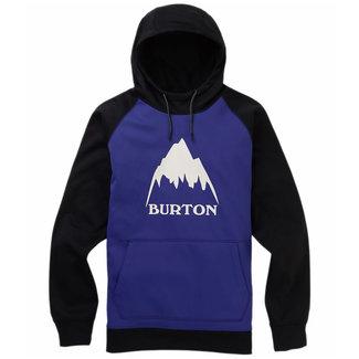 Burton M Crown Bndd Hoodie Royal/Trublk