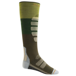 Burton Performance Ultralight Compression Sock Mosstone