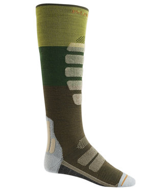 Burton Performance Ultralight Compression Sock Mosstone