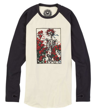 Burton M Roadie Tech T-Shirt Skull And Roses