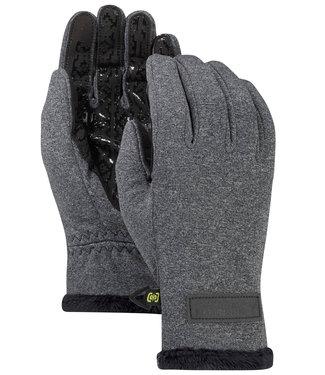Burton W Sapphire Glove True Black Heather