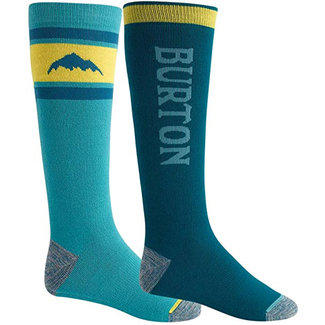 Burton Weekend Midweight Sock 2-Pack Deep Teal