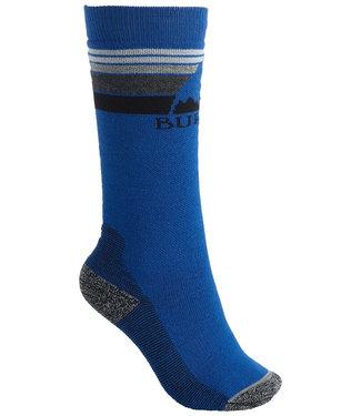 Burton Youth Emblem Midweight Sock Classic Blue