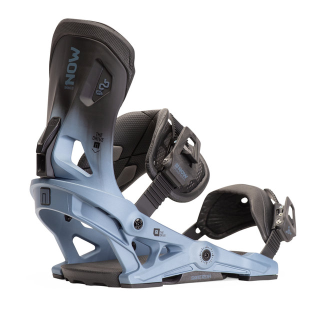 NOW Drive Snowboard Bindings Blue