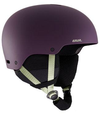 Anon Greta 3 Snowboard Helm Purple