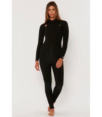 SisstrEvolution 7 Seas 3/2 Chest Zip Neoprene Black Wetsuit