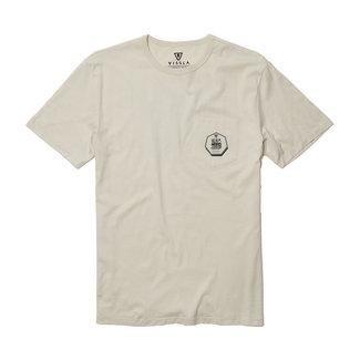 Vissla Backward Fin Beach Grit T-shirt BON