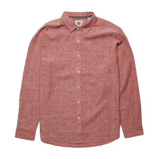 Vissla Coastlands Chambray Eco Long Sleeve RRD