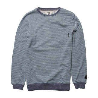 Vissla Snow Stripe Pkt Crew Fleece BFH