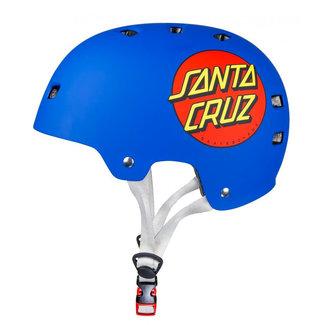 Bullet x Santa Cruz Classic Dot Helm Matt Blue