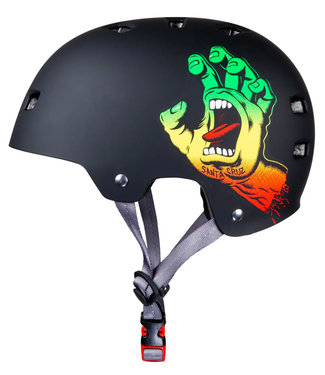Bullet x Santa Cruz Screaming Hand Helm Rasta