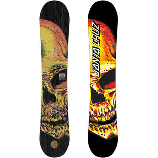 Santa Cruz Deathpool Skull Snowboard