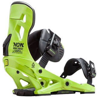 NOW Pilot Snowboard Bindings Green