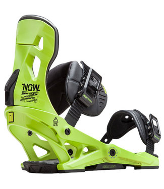 NOW Pilot Snowboard Bindings Green
