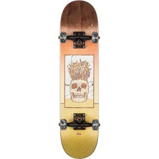 Globe Celestial Growth 7.0 Skateboard Complete Brown