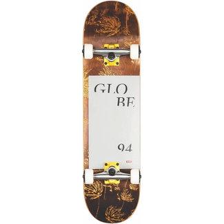 Globe G2 Typhoon 8.0 Skateboard Complete Yellow