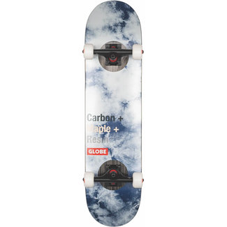 Globe G3 Bar 7.75 Skateboard Complete Impact/ Indigo Dye