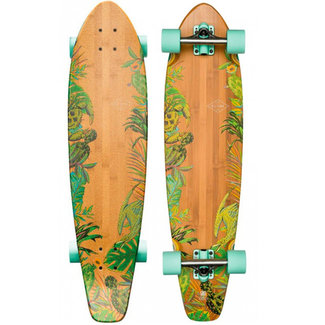 Globe The All Time 36 Longboard Complete Bamboo Prickl Pear