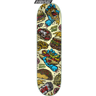 Santa Cruz Braun Snacks Everslick 8.25 Skateboard Deck