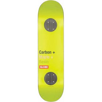 Globe G3 Bar Impact Toxic Yellow 8.0 Skateboard Deck