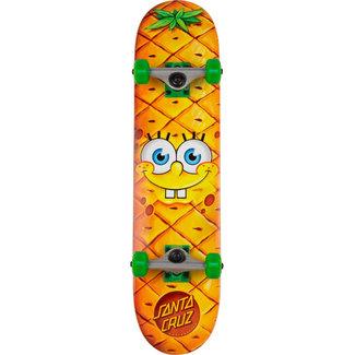 Santa Cruz Spongebob Pineapple Face 7.25 Complete Skateboard