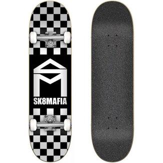 Sk8Mafia House Logo Checker 7.8 Complete Skateboard