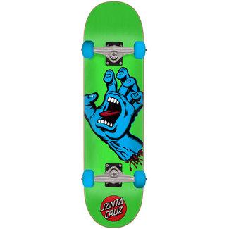 Santa Cruz Kids Screaming Hand Green 7.5 Complete Skateboard