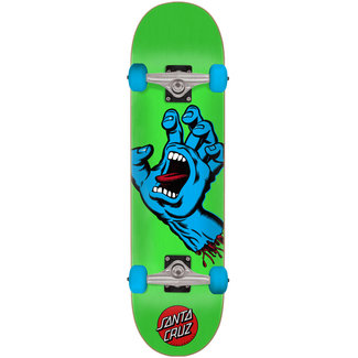 Santa Cruz Screaming Hand Green 7.5 Complete Skateboard