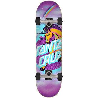 Santa Cruz Kids Unicorn Dot 7.25 Complete Skateboard
