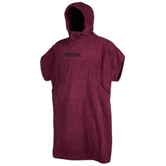 Mystic Poncho Oxblood Red