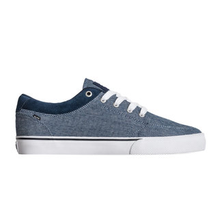 Globe Kids GS Navy Chambray White Skate Shoes