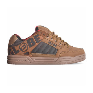 Globe Tilt Brown/Plaid Shoes