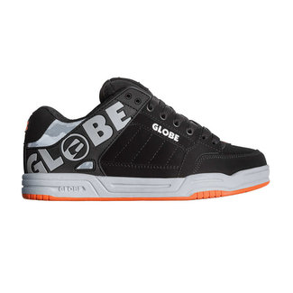 Globe Tilt Black/Grey/Orange Shoes