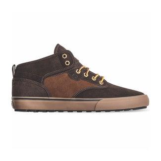 Globe Motley Mid Brown/Tan/Plaid Shoes