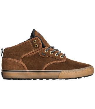 Globe Motley Mid Partridge Brown/Gum/Fur Shoes