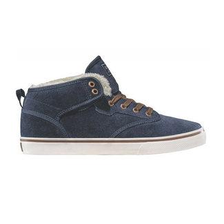 Globe Motley Mid Navy/Brown/Fur Shoes