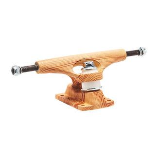 """Krux 8.0"""" Standard Skateboard Trucks Raw Wood"""