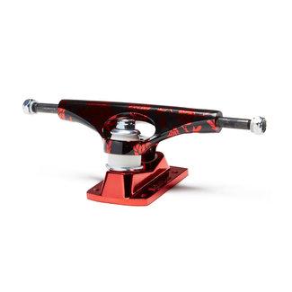 """Krux 8.0"""" Krome Standard Skateboard Trucks Rose Red"""