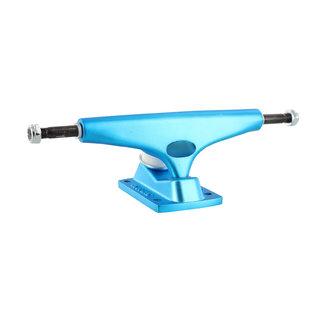 "Krux 8.25"" Krome Standard Skateboard Trucks Matte Blue"
