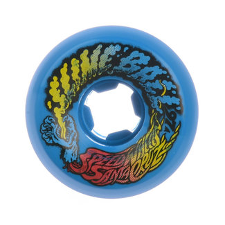 Santa Cruz Slime Balls Vomit Mini Skateboard Wheels 54mm/97A Neon Yellow