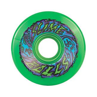 Santa Cruz Slime Balls 66s Cruiser Longboard Wheels 66mm/78A Neon Green