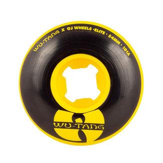 OJ Wheels Elite EZ Edge Wu Tang Skateboard Wheels 54mm/101A Yellow Black