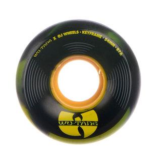 OJ Wheels Keyframes Wu Tang Skateboard Cruiser Wheels 54mm/87A Black Swirl