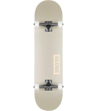 Globe Goodstock 8.0 Skateboard Complete Off White