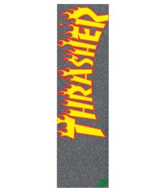 """MOB Thrasher Yellow & Orange Flames Griptape 9"""""""