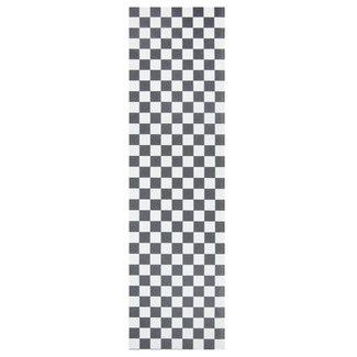"Steez Black White Checkerboard Griptape 9"""