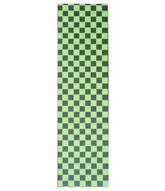 "Steez Green Checkerboard Griptape 9"""